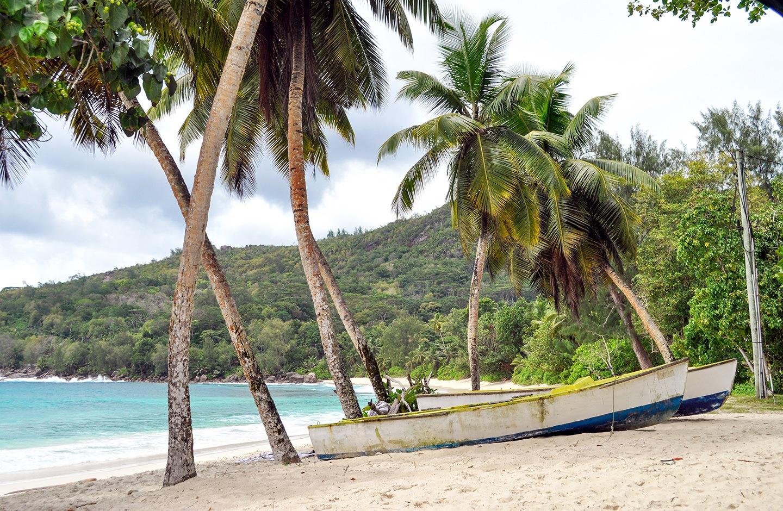 Anse Takamaka beach Mahé Seychelles