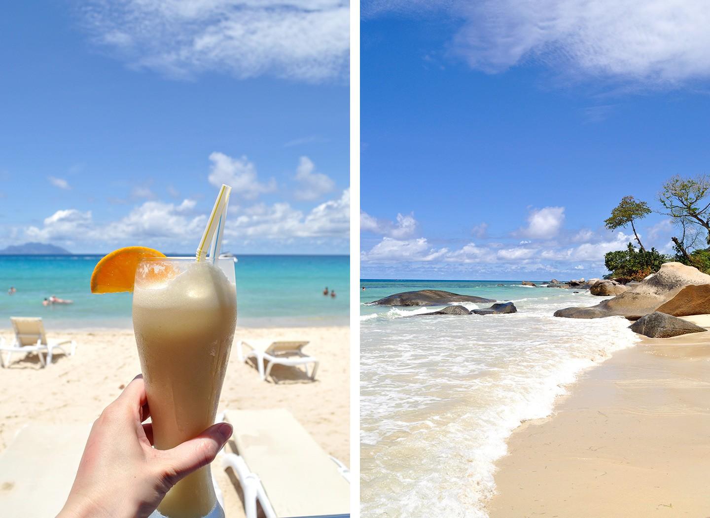 Beau Vallon beach Mahé Seychelles