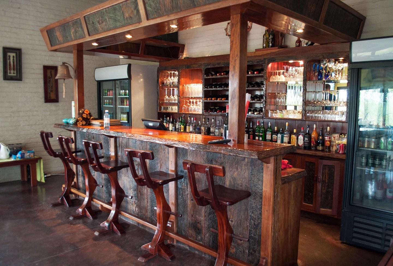 Naledi bush camp bar