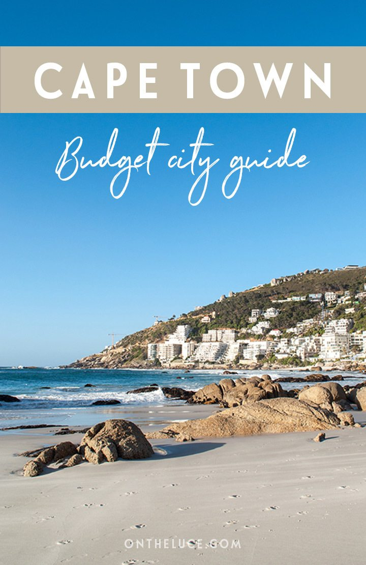 Visiting Cape Town on a budget – how to save money on sightseeing, museums, entertainment, food, city views and transport on a Cape Town city break in South Africa #SouthAfrica #CapeTown #budgettravel