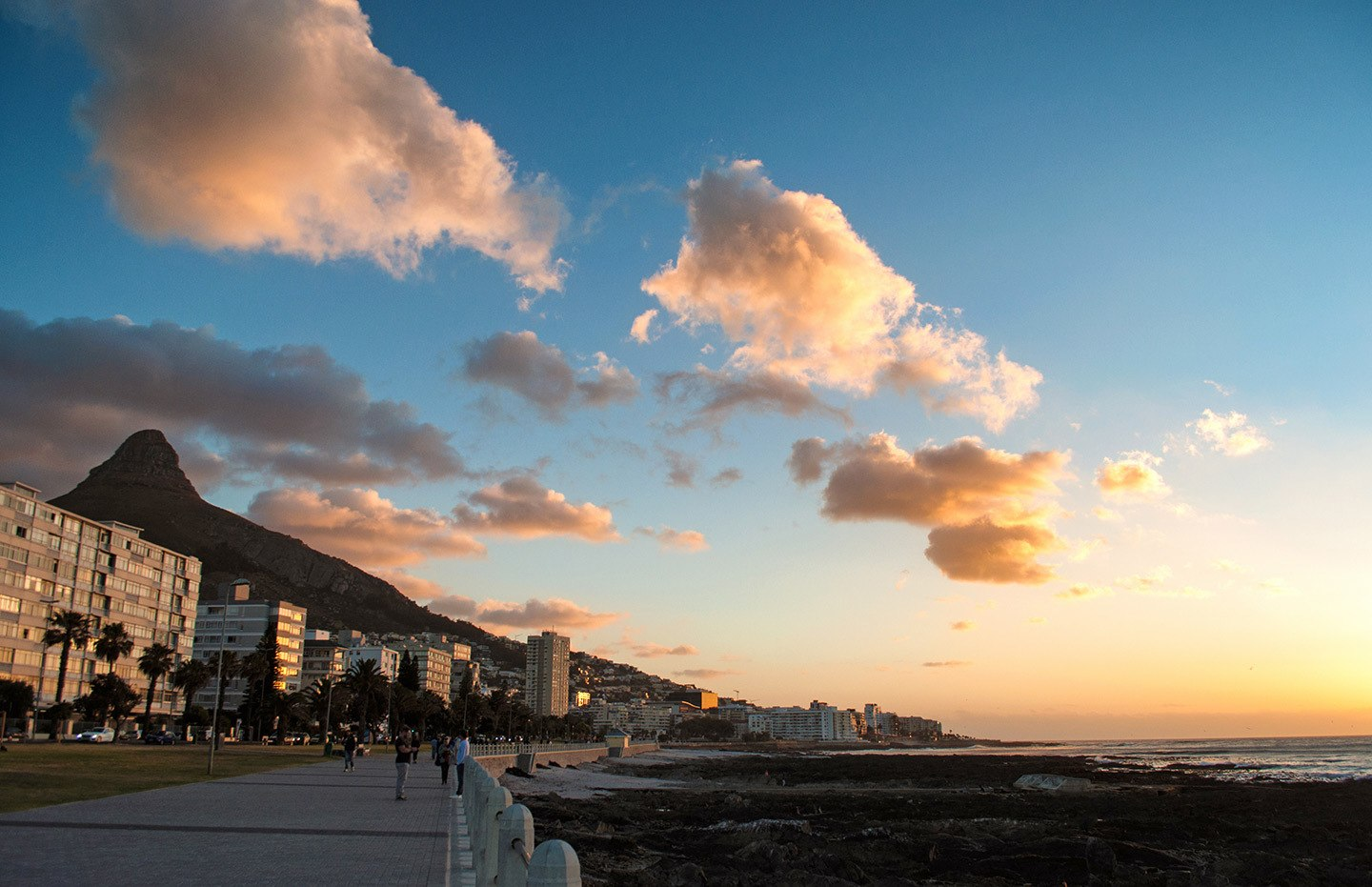 Sea Point sunset, Cape Town