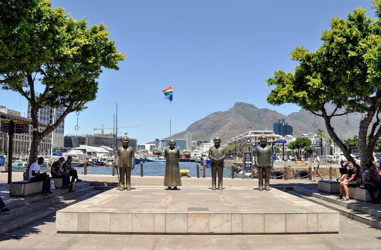 Nobel Square at the V&A Waterfront