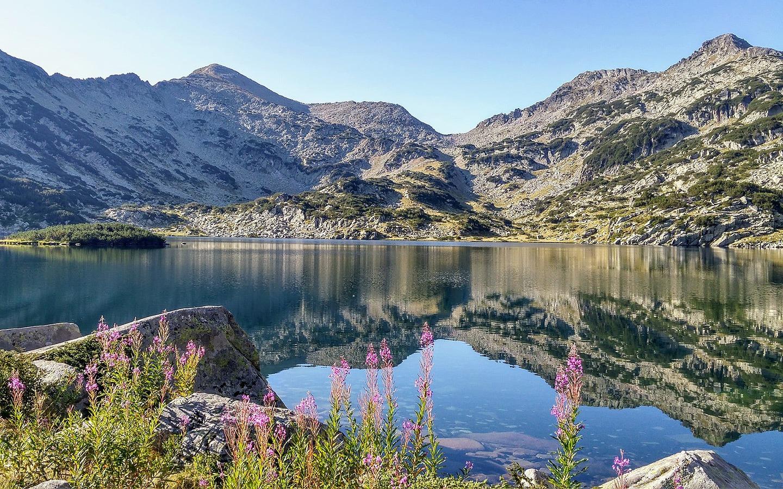 Popovo Lake in Pirin National Park in Bulgaria