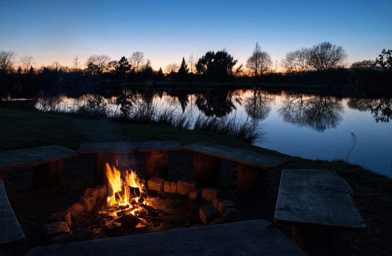Cotswolds campfire