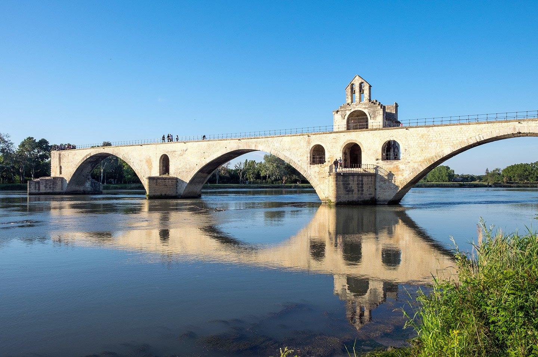 The Pont d'Avignon or Pont St-Bénezet