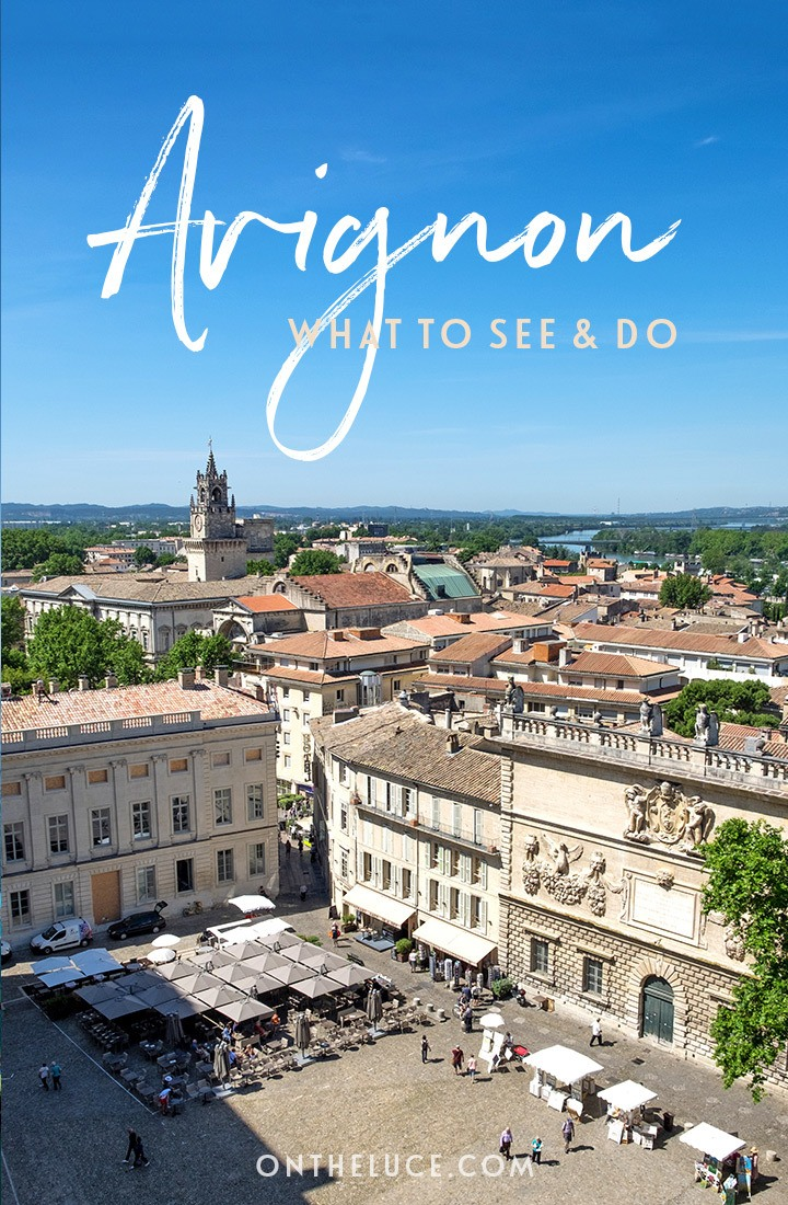 What to see and do in the city of Avignon, South of France – things to do in Avignon including boat trips on the Rhône, the Pont d'Avignon, the Palais des Papes and Provençal food #France #Avignon #SouthofFrance #Provence