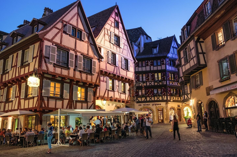Evenings in Colmar, France