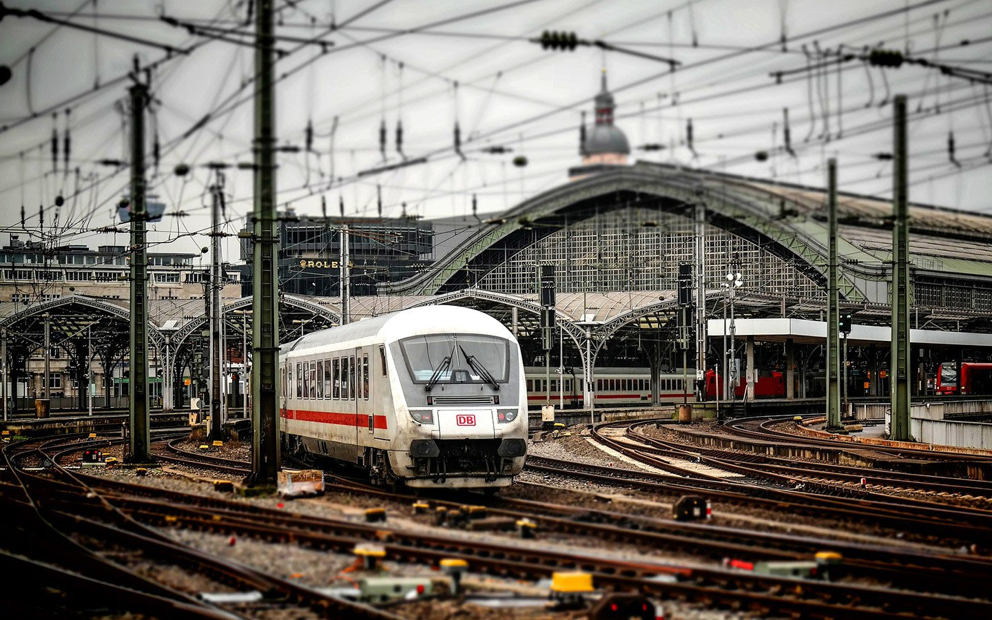 Train station in Cologne, Germany