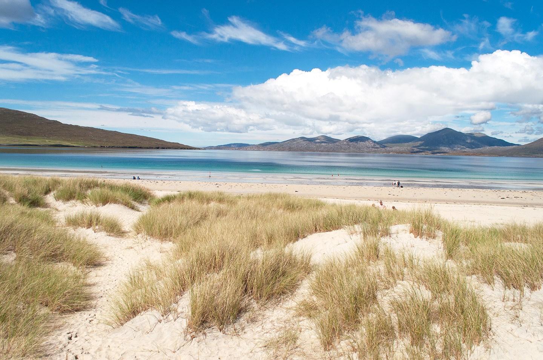 Isle of Harris beaches in Scotland