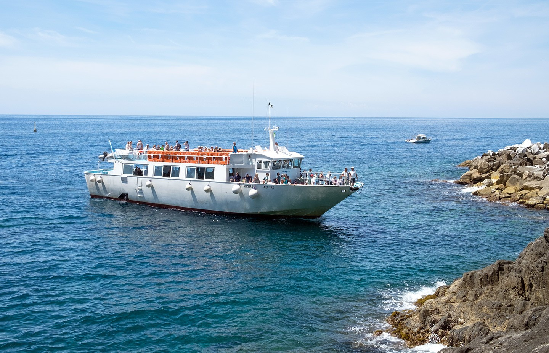 The Cinque Terre ferry