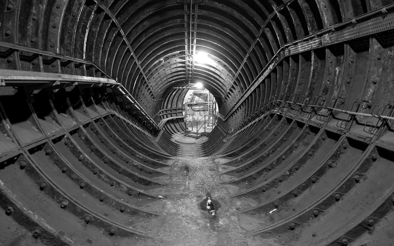 London underground: Euston's secret tunnels