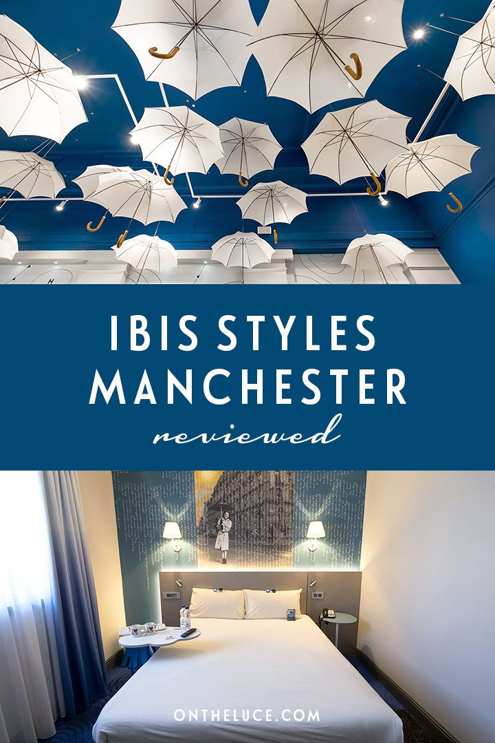 Sunshine and showers at the Ibis Styles, Manchester