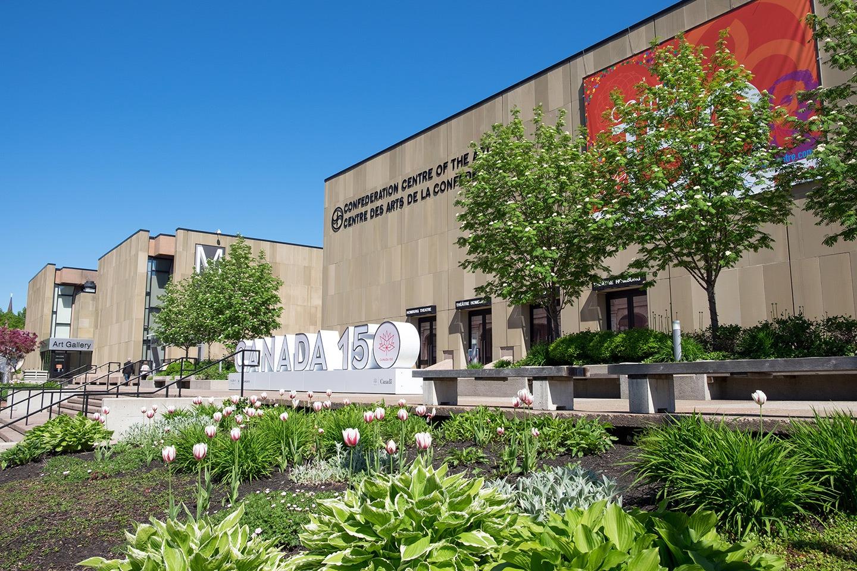 Confederation Centre of the Arts,Charlottetown, Prince Edward Island, Canada