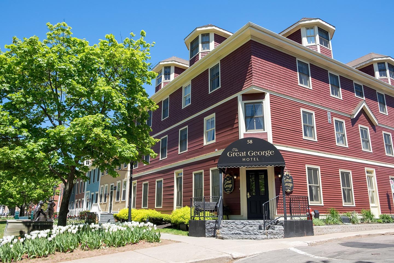 Great George Hotel in Charlottetown, Prince Edward Island, Canada