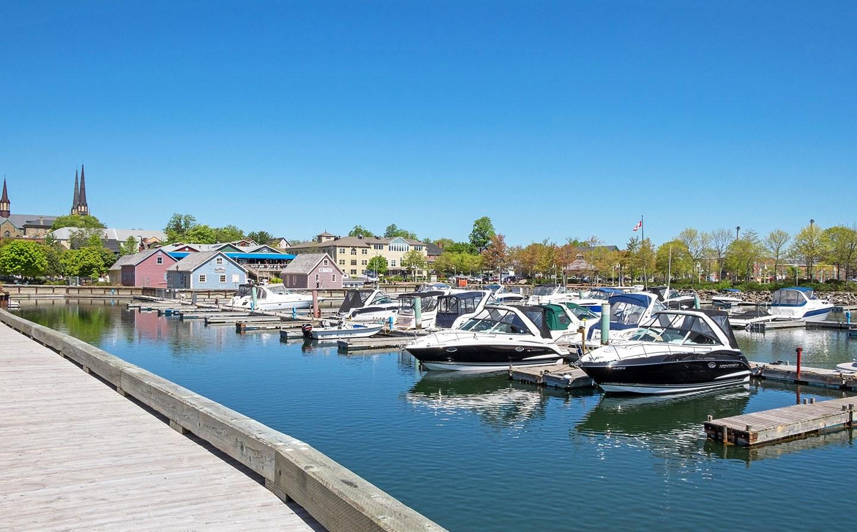 Peake's Wharf, Charlottetown, Prince Edward Island, Canada
