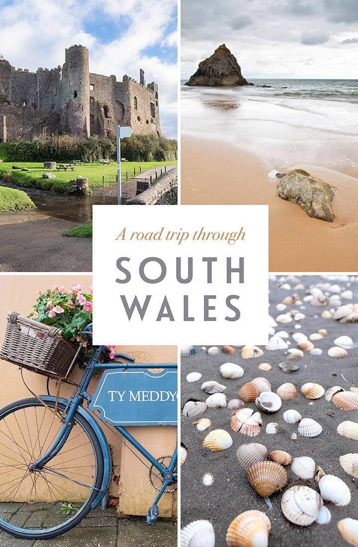 A road trip through South Wales: A legendary long weekend itinerary for exploring South Wales, featuring castles, beaches, gardens and shopping, with recommendations for great places to eat and drink | South Wales road trip | Wales itinerary | Things to do in Wales