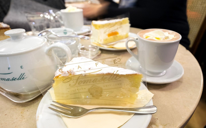 Café Tomaselli in Salzburg
