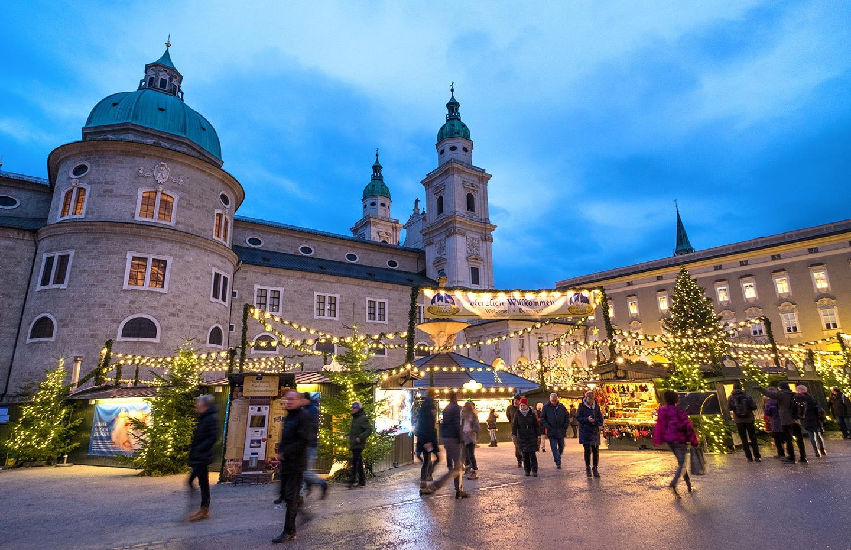 Salzburg Christkindlmarkt Christmas market