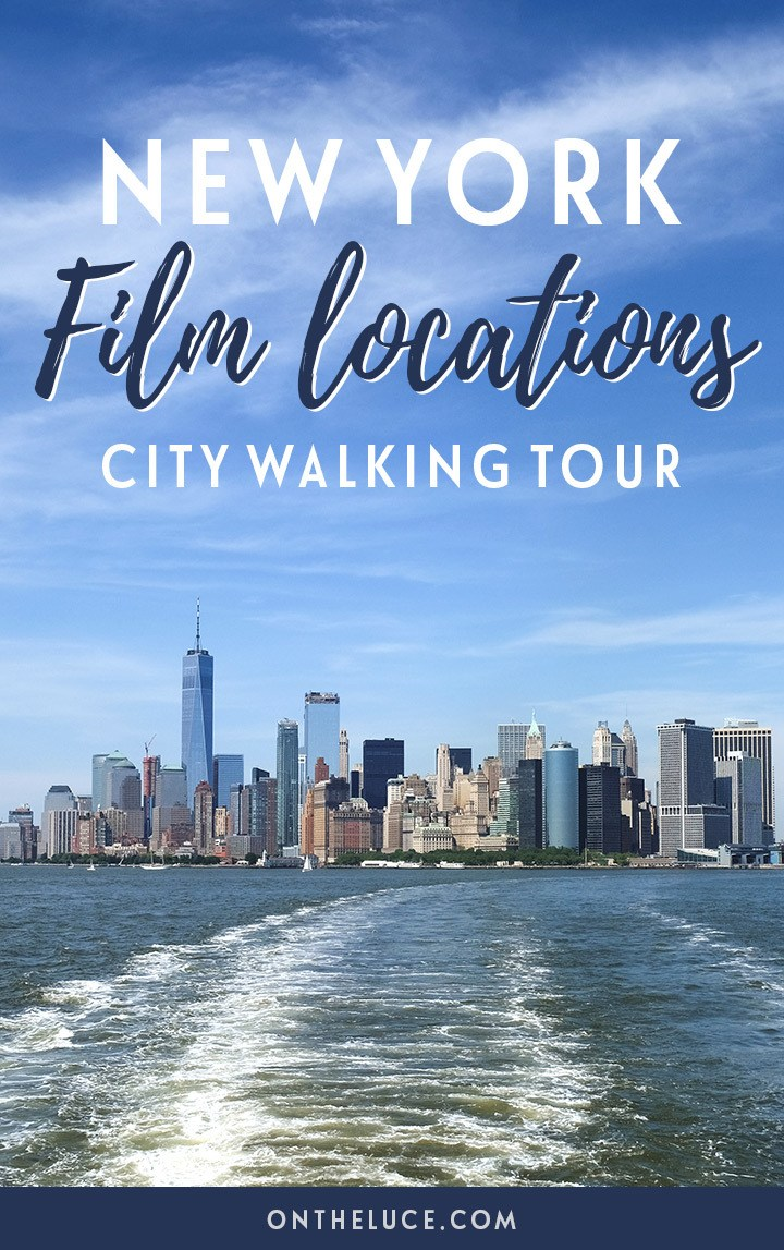 A New York film locations self-guided city walking tour around Manhattan, featuring locations from iconic films such as Ghostbusters, When Harry Met Sally and Breakfast at Tiffany's   New York film locations   New York movie locations   New York walking tour   Manhattan walking tour