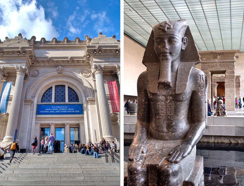 New York's Metropolitan Museum of Art, a New York film location