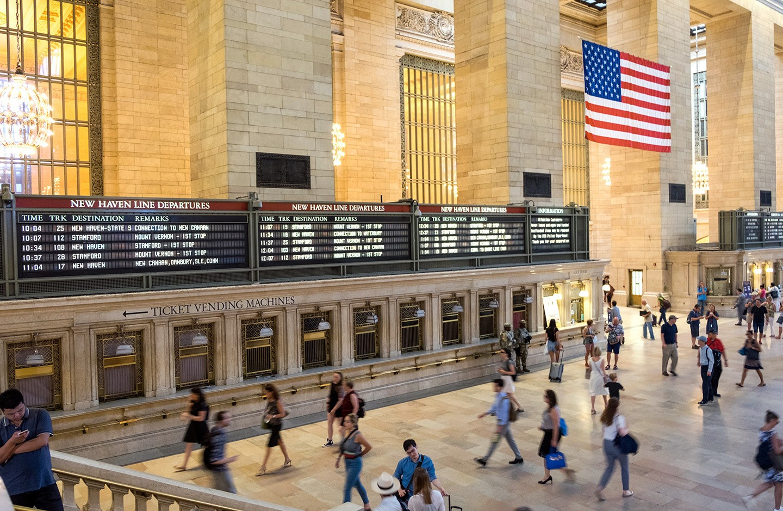 Inside Grand Central Station, New York
