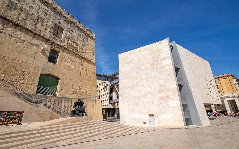 Architecture in Valletta, Malta