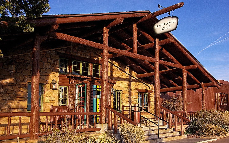 Bright Angel Lodge, Grand Canyon hotel