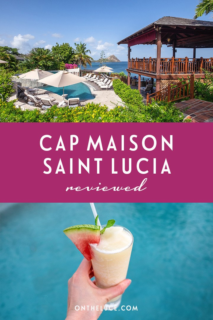 A luxurious Caribbean island escape to Cap Maison resort and spa in Saint Lucia, a boutique hotel with delicious food, stunning views and top-class service. #SaintLucia #CapMaison #Caribbean #honeymoon #luxurytravel