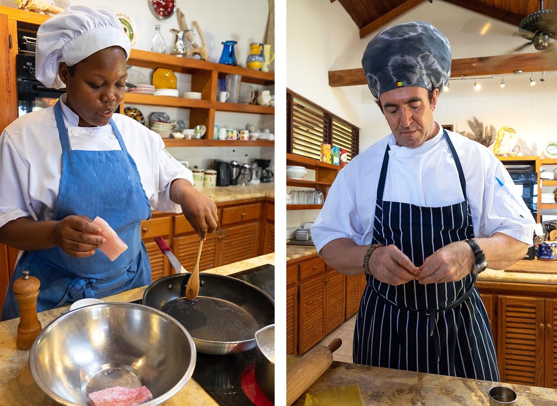 Chefs at Cap Maison, Saint Lucia