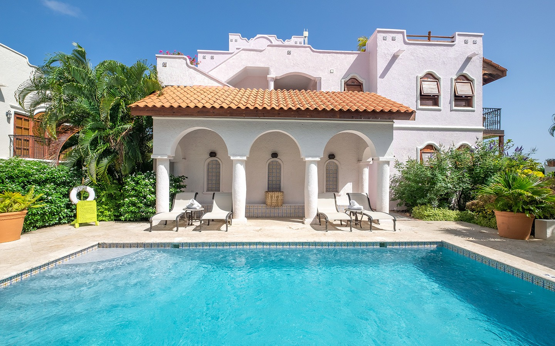 Courtyard pool at Cap Maison, Saint Lucia