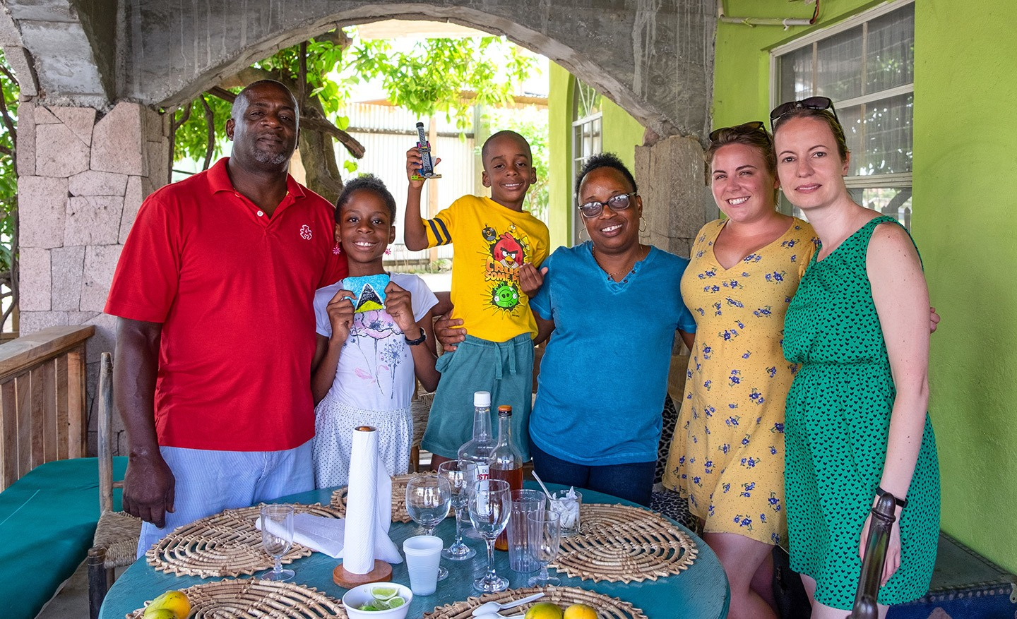 Creole cookery class in Saint Lucia