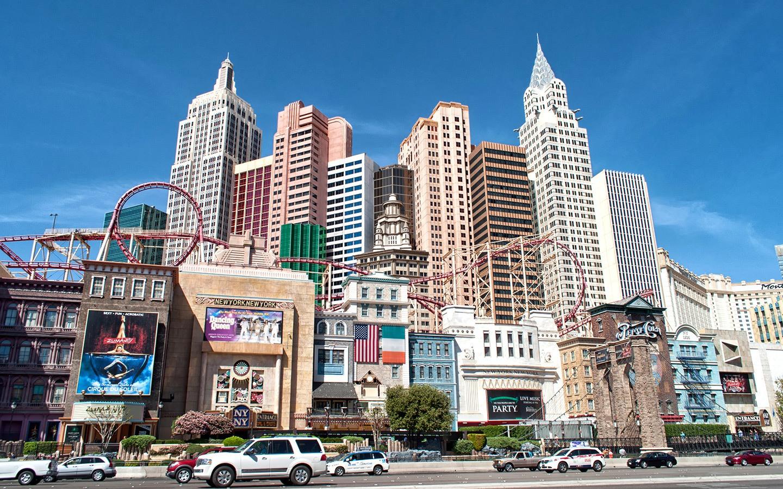 New York New York on the Las Vegas Strip