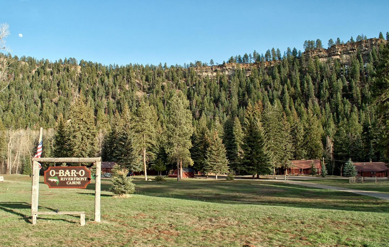 O Bar O Cabins near Durango in Colorado, USA