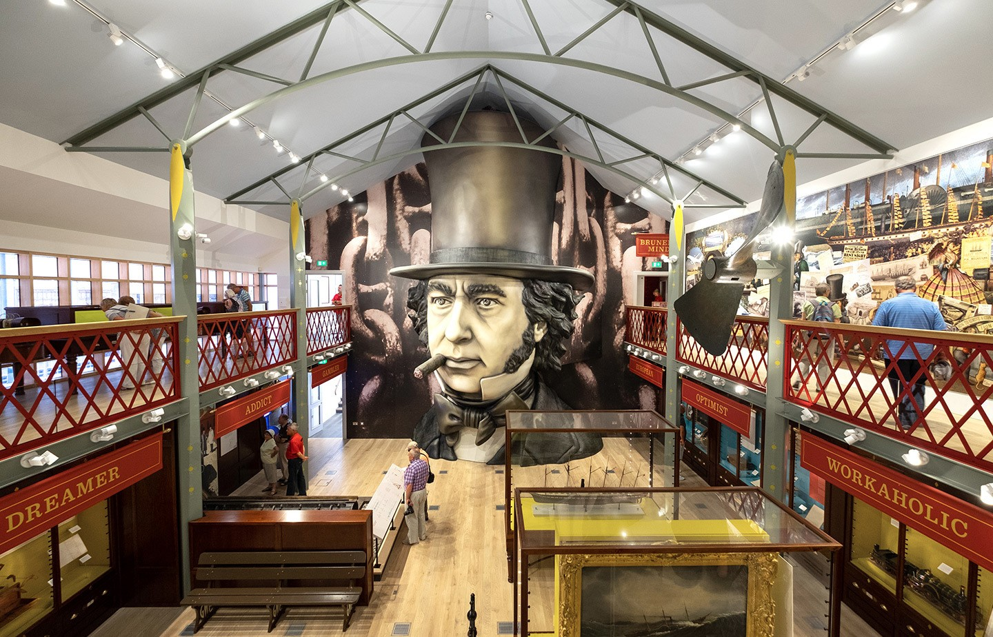 Being Brunel exhibition at the SS Great Britain, Bristol