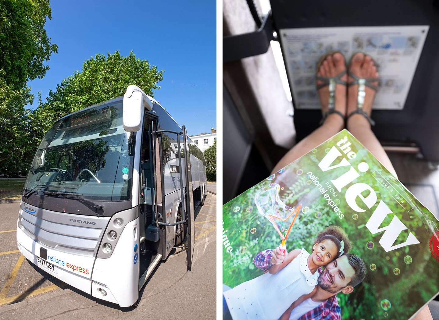 Day trips with National Express coaches