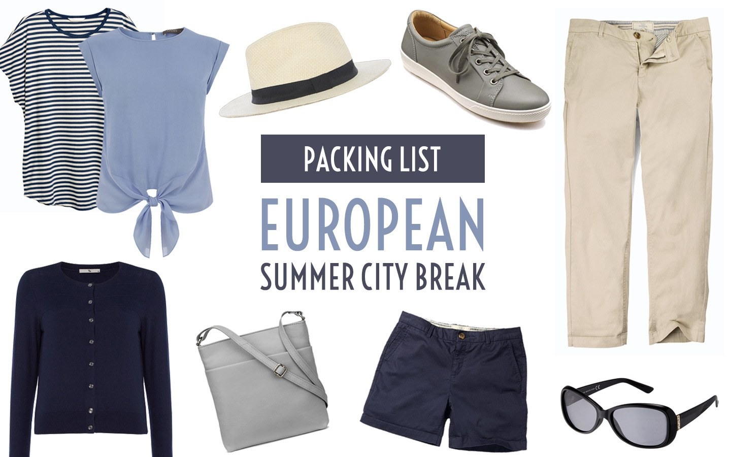 What to pack for a European summer city break