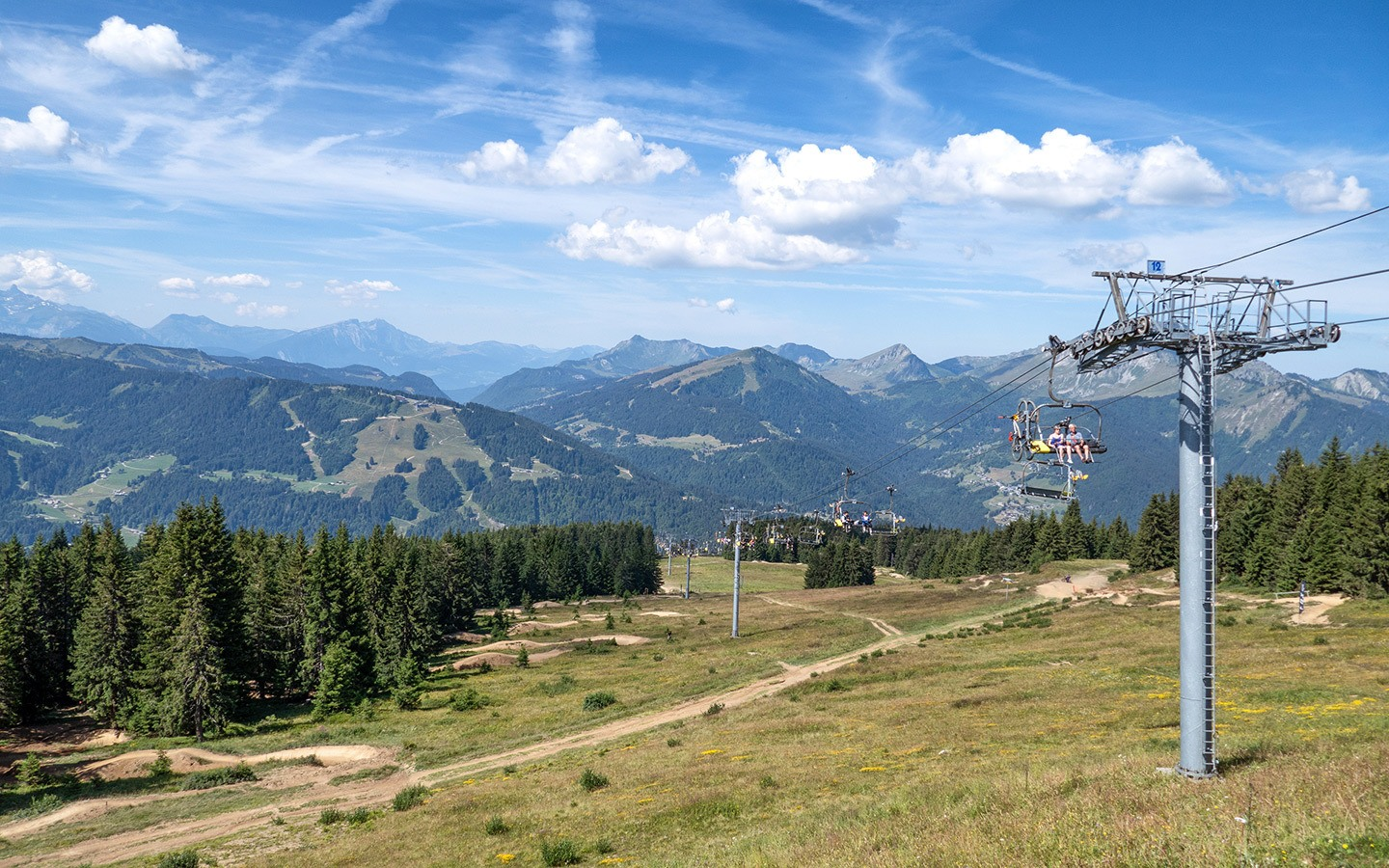 Summer in Morzine in the French Alps