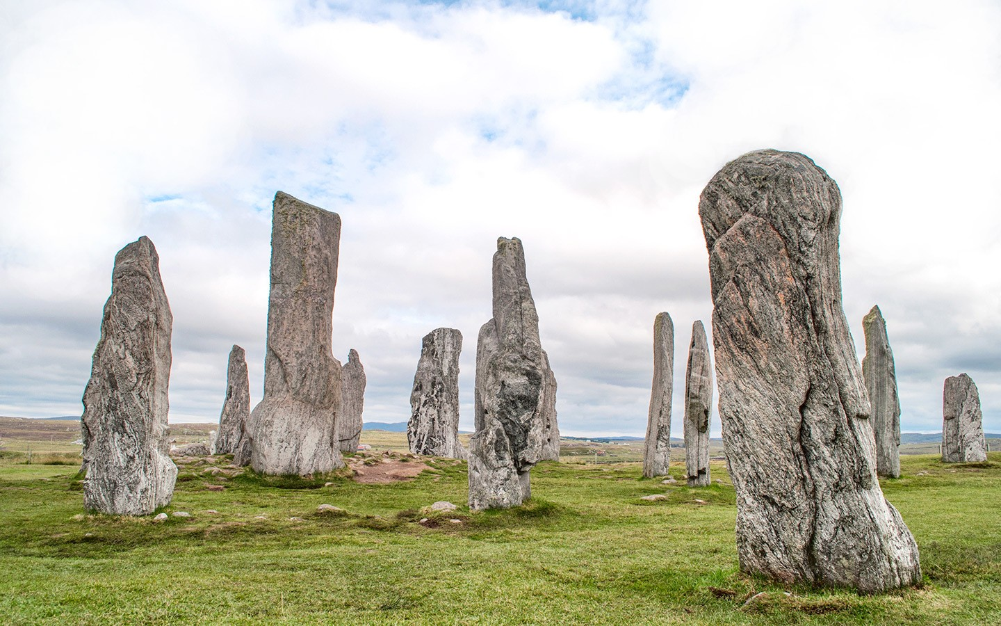 The Callanish Stones in the Outer Hebrides, Scotland, from the Lewis Trilogy travel books
