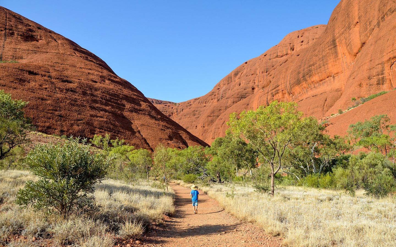 Kata Tjuta/The Olgas in Outback Australia