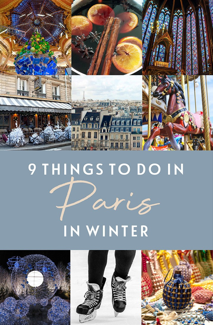 9 things to do in Paris in winter, the best of Paris at Christmas, including festive light displays, Christmas markets, ice skating, church concerts and funfair rides | Christmas in Paris | Winter in Paris | Paris Christmas