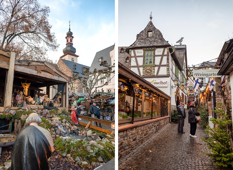 Rüdesheim am Rhein Christmas market, Germany