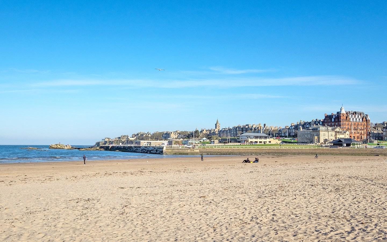 West Sands Beach, St Andrews Scotland