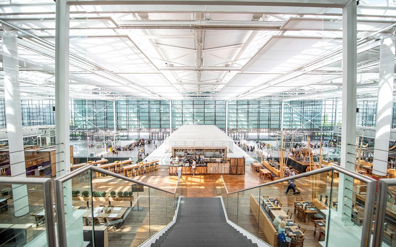 Interior of Munich airport