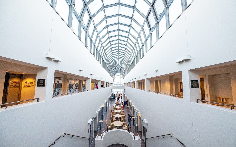 Arktikum Museum and Science Centre in Rovaniemi, Finland