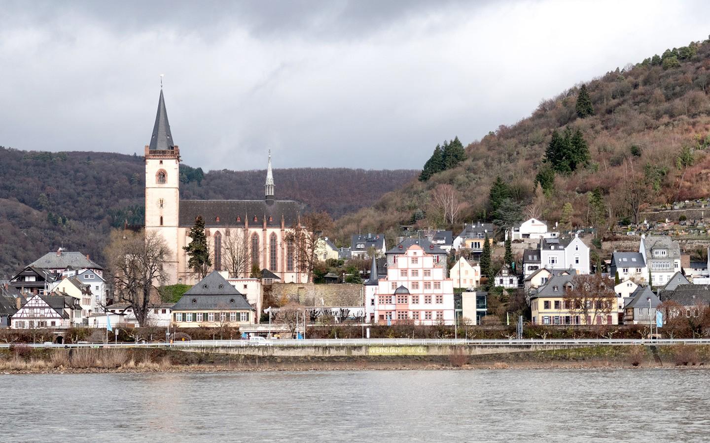 Croisieurope Rhine river cruise views