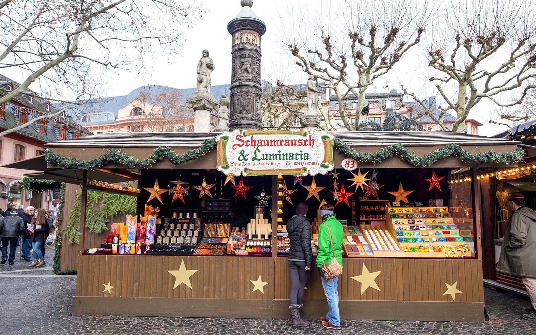 Mainz Christmas market, Germany