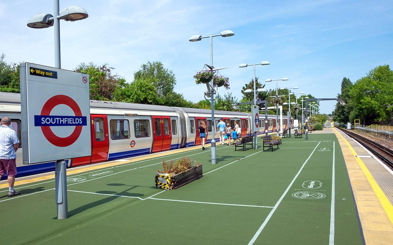 Southfields Tube station