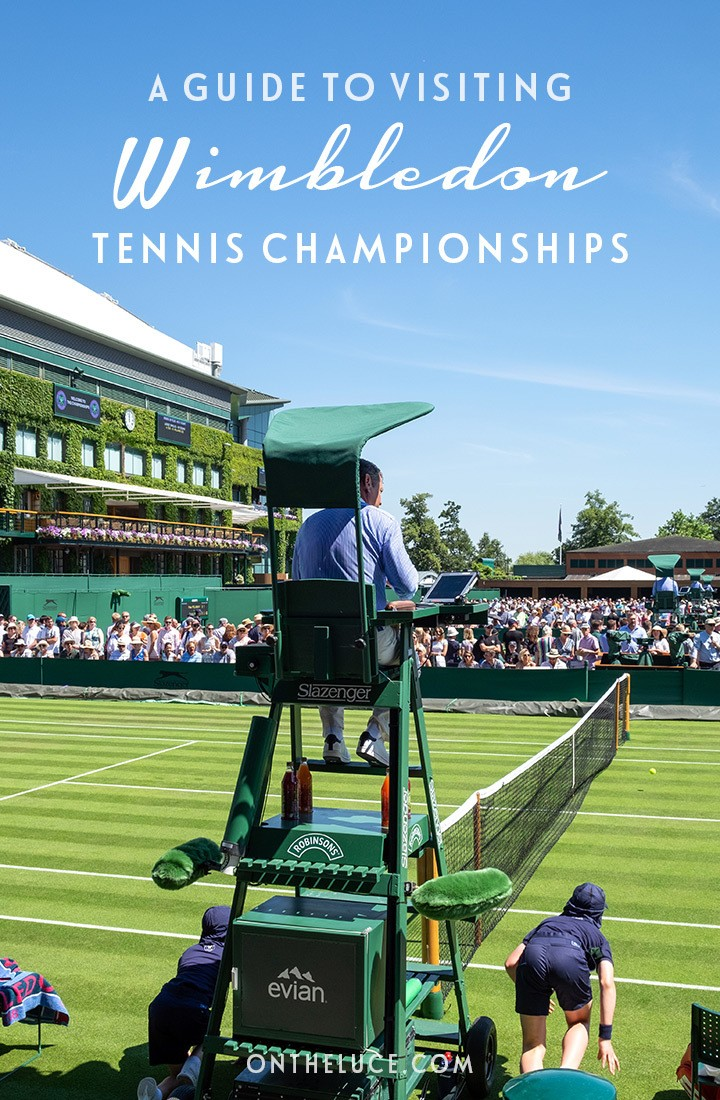 A guide to visiting Wimbledon Tennis Championships in London – everything you need to know, from how to get tickets to what to wear and bring with you   Wimbledon Championships   Visiting the Wimbledon Tennis Championships   Wimbledon guide