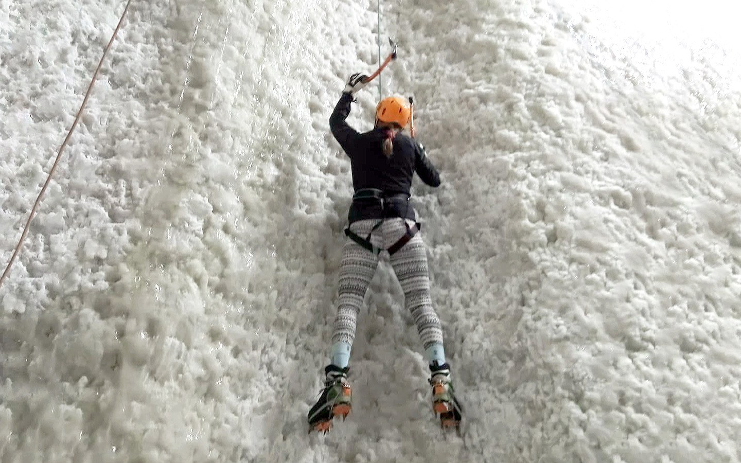Ice climbing in Kinlochleven
