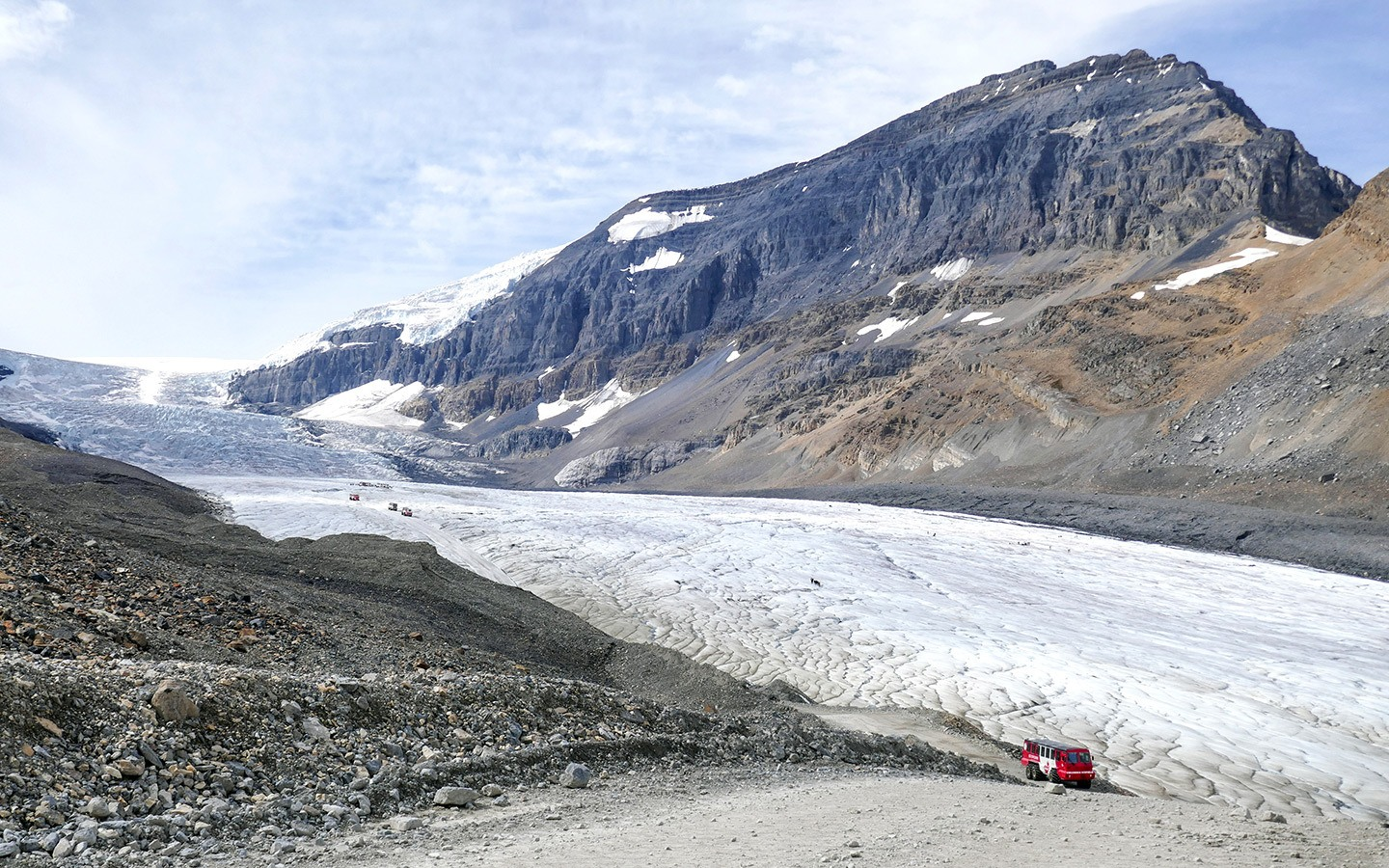 Glacier walking in the Rockies: A Columbia Icefields tour